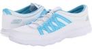 White/Blue SKECHERS Performance GoSleek for Women (Size 7.5)