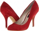Red Suede Steven Distnt for Women (Size 7)