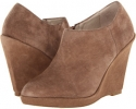 Taupe Suede Steven Giina for Women (Size 7)