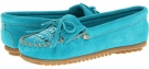 Kilty Suede Studded Moc Women's 7.5