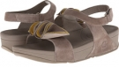 Mink/Yellow Pear FitFlop Yoko Sandal for Women (Size 8)