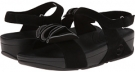 Black/Fog FitFlop Yoko Sandal for Women (Size 8)