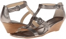 Anthracite Cow Metallic Isola Pazia for Women (Size 10)