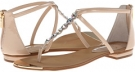 Cream Patent Isola Aida for Women (Size 7)