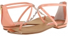 Peach Patent Isola Aida for Women (Size 6.5)