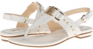 White Lucky Milled Calf Isola Adina for Women (Size 7)