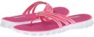 Hot Pink SKECHERS Sport Cooling Gel 3 Strap Thong Sandal for Women (Size 11)
