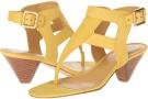 Yellow Nubuck Nine West Crashcourse for Women (Size 7)