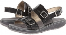 TruWALKzero Low Sandal Buckle 2 Band Women's 5