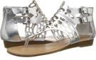 Silver CARLOS by Carlos Santana Sydney for Women (Size 6)