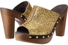 Skyler Metallic Leopard Calf Hair Women's 5