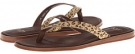 Allaria Metallic Leopard Calf Hair Women's 6