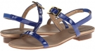 French Blue Ferns Patent Vaneli Bambee for Women (Size 4.5)