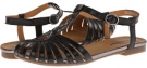 Black Bare Traps Fanya for Women (Size 8.5)