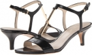 Black Leather Nine West Yeelied for Women (Size 7)