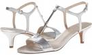 Silver Metallic Nine West Yeelied for Women (Size 7)