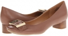 Brown Leather Nine West Tolan for Women (Size 7)