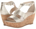 Platino Metallic Franco Sarto Falco for Women (Size 7)