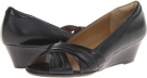 Black Velvet Sheep Nappa Softspots Carolena for Women (Size 7)