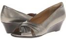 Slate Grey Metallic Velvet Sheep Nappa Softspots Carolena for Women (Size 7)