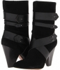 Black/Black Suede Nine West Tairette for Women (Size 9)