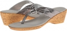 Pewter Leather Onex Paulie for Women (Size 5)