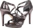 Gunmetal Crackled Metallic Calvin Klein Versie for Women (Size 5.5)