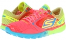 Hot Pink/Lime SKECHERS Performance GO Run - Speed for Women (Size 5)