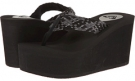 Black Roxy Palika for Women (Size 6)