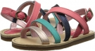 Paul Smith Junior Daffodil Sandals With Colored Straps Size 9.5