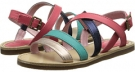 Paul Smith Junior Daffodil Sandals With Colored Straps Size 12.5
