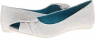 White Cozumel Linen Blowfish Nia for Women (Size 8)