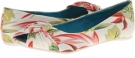 Off White Honolulu Print Blowfish Nia for Women (Size 8)