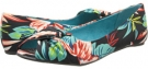 Black Honolulu Print Fabric Blowfish Nia for Women (Size 8)