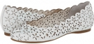 Soft White Ruby Tumbled Jessica Simpson Silviah for Women (Size 9.5)