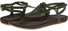 Green Teva Capri Sandal for Women (Size 8)