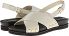 Parchment Leather Isaac Mizrahi New York Bianca for Women (Size 7)