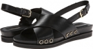Black Leather Isaac Mizrahi New York Bianca for Women (Size 7)