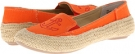 Orange Multi Canvas Cloud 9 Gabe for Women (Size 7)