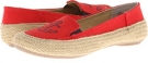 Red Multi Canvas Cloud 9 Gabe for Women (Size 7)