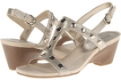 Light Gold Synthetic Bandolino Cassidy for Women (Size 5)