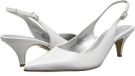 White Synthetic Bandolino Butler for Women (Size 5)