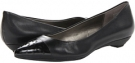 Black Leather Bandolino Andy for Women (Size 5)