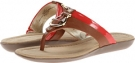 Tan/Coral Synthetic Bandolino Janette for Women (Size 5.5)