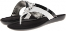 Black/White Synthetic Bandolino Janette for Women (Size 5.5)