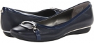 Navy Leather Bandolino No Limits for Women (Size 5)