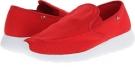 Red/White Lugz Zosho Slip On for Men (Size 9.5)