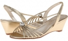 Gold Metallic Caparros Margarita for Women (Size 8.5)