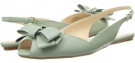 Green Leather Nine West Bethany for Women (Size 5)