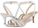 White Leather Nine West Gissella for Women (Size 7)